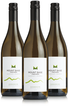Mount Base Vineyard bottles